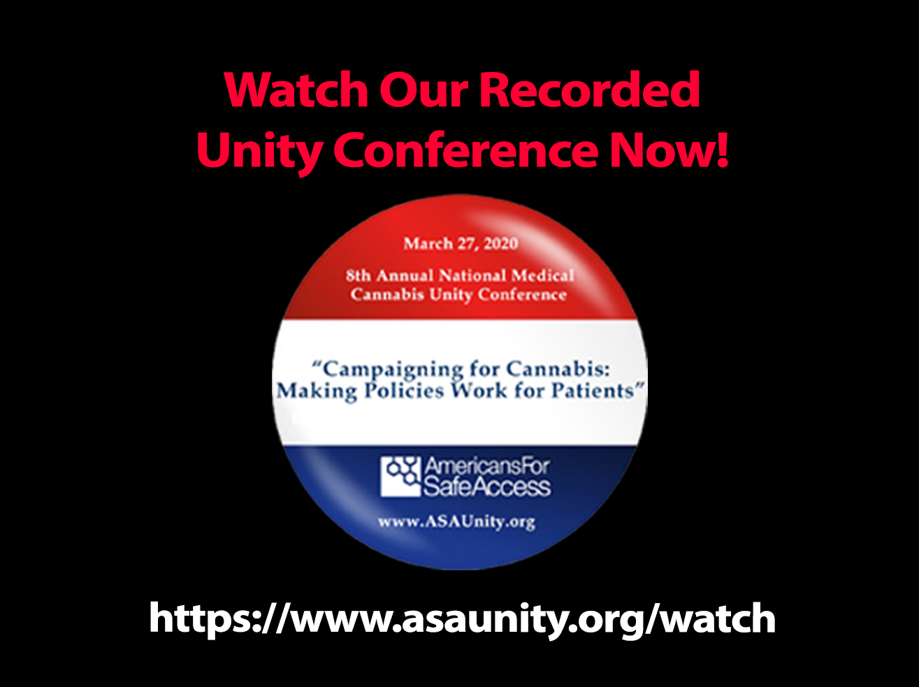 Watch our recorded conference here!