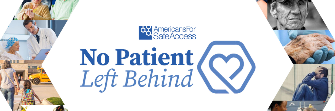 Please check out our No Patient Left Behind Campaign