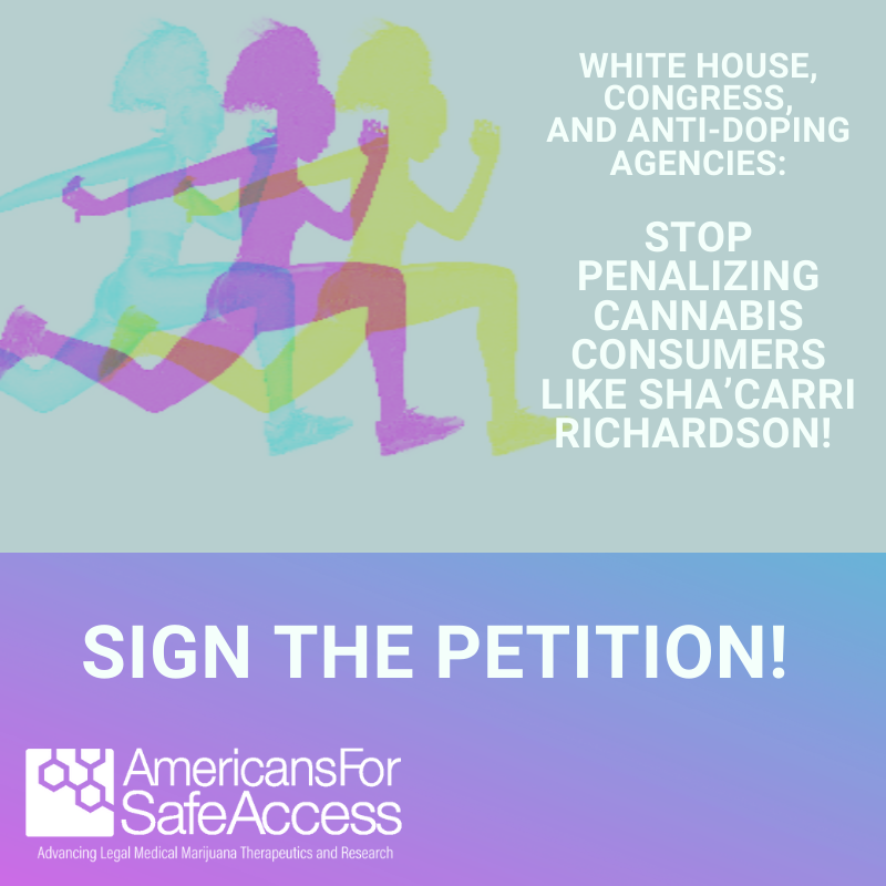 White House, Congress and Anti-Doping Agencies- Stop Penalizing Cannabis Consumers Like Sha'Carri Richardson!