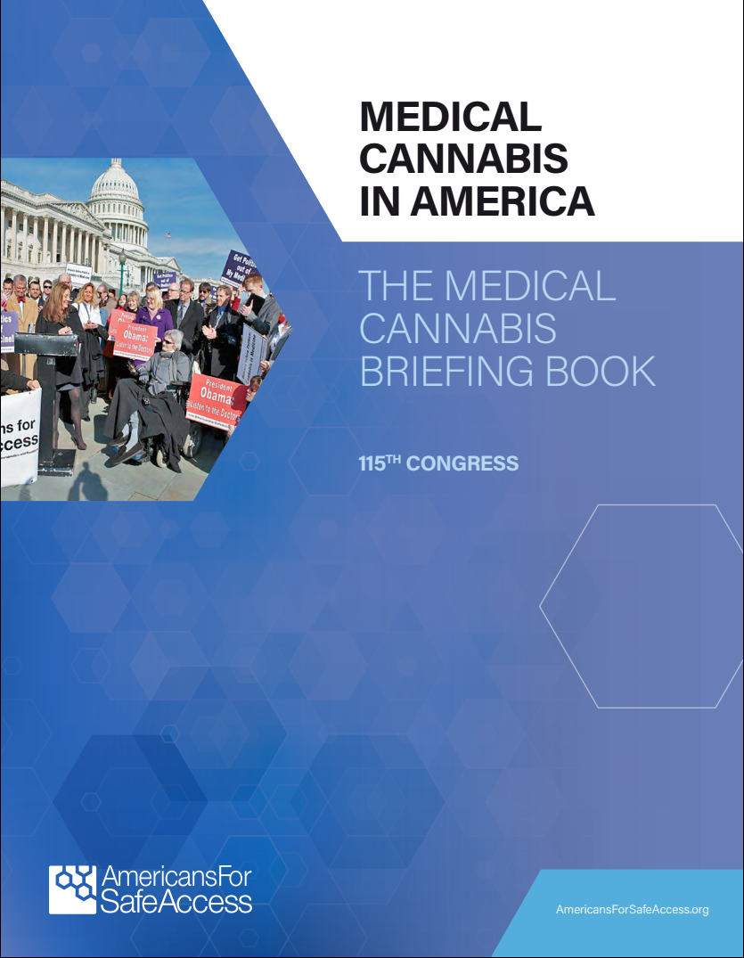 The cover of the briefing book.