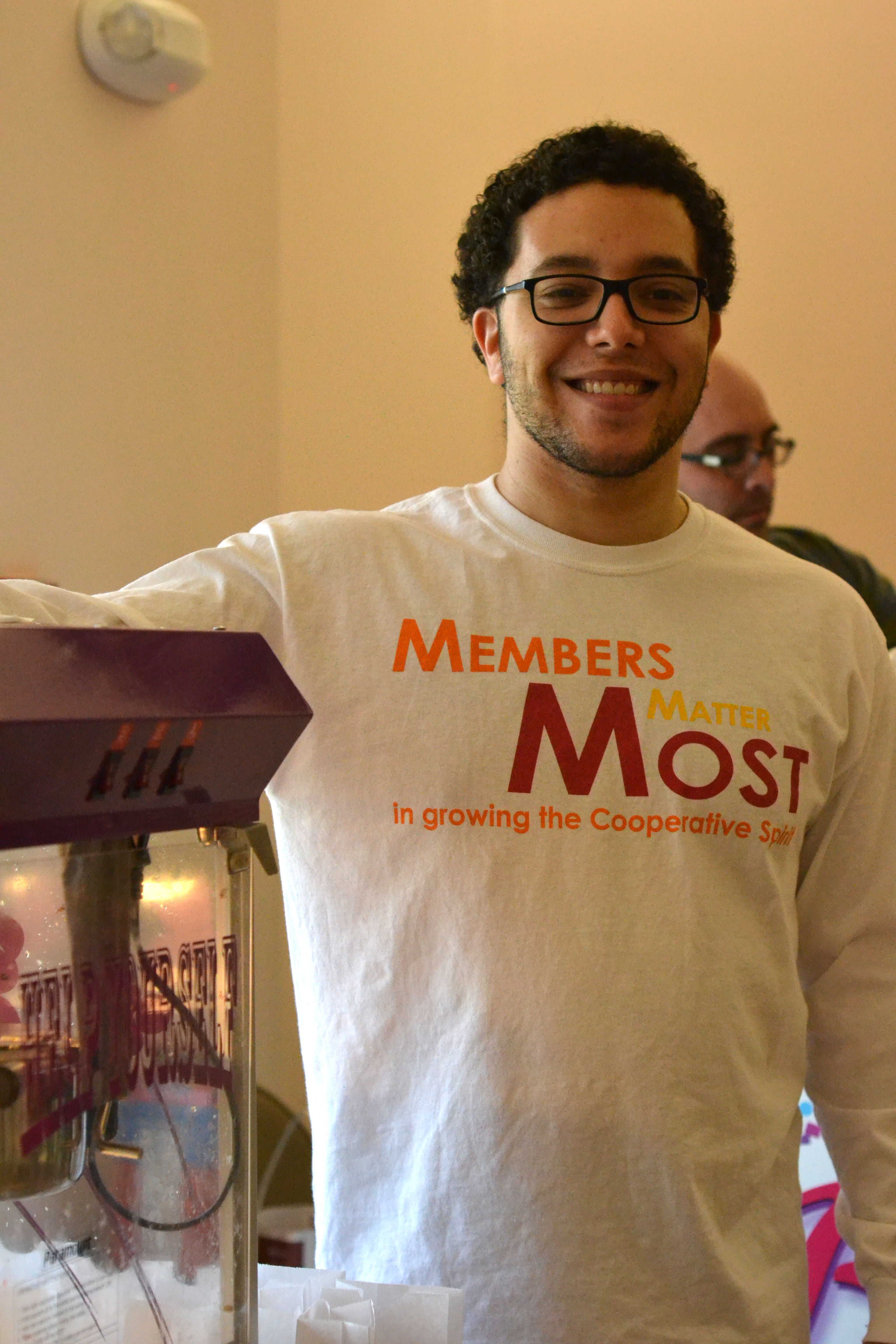 Sean Capaloff-Jones of UMass Five College Federal Credit Union. [photo credit: Rebekah Hanlon]