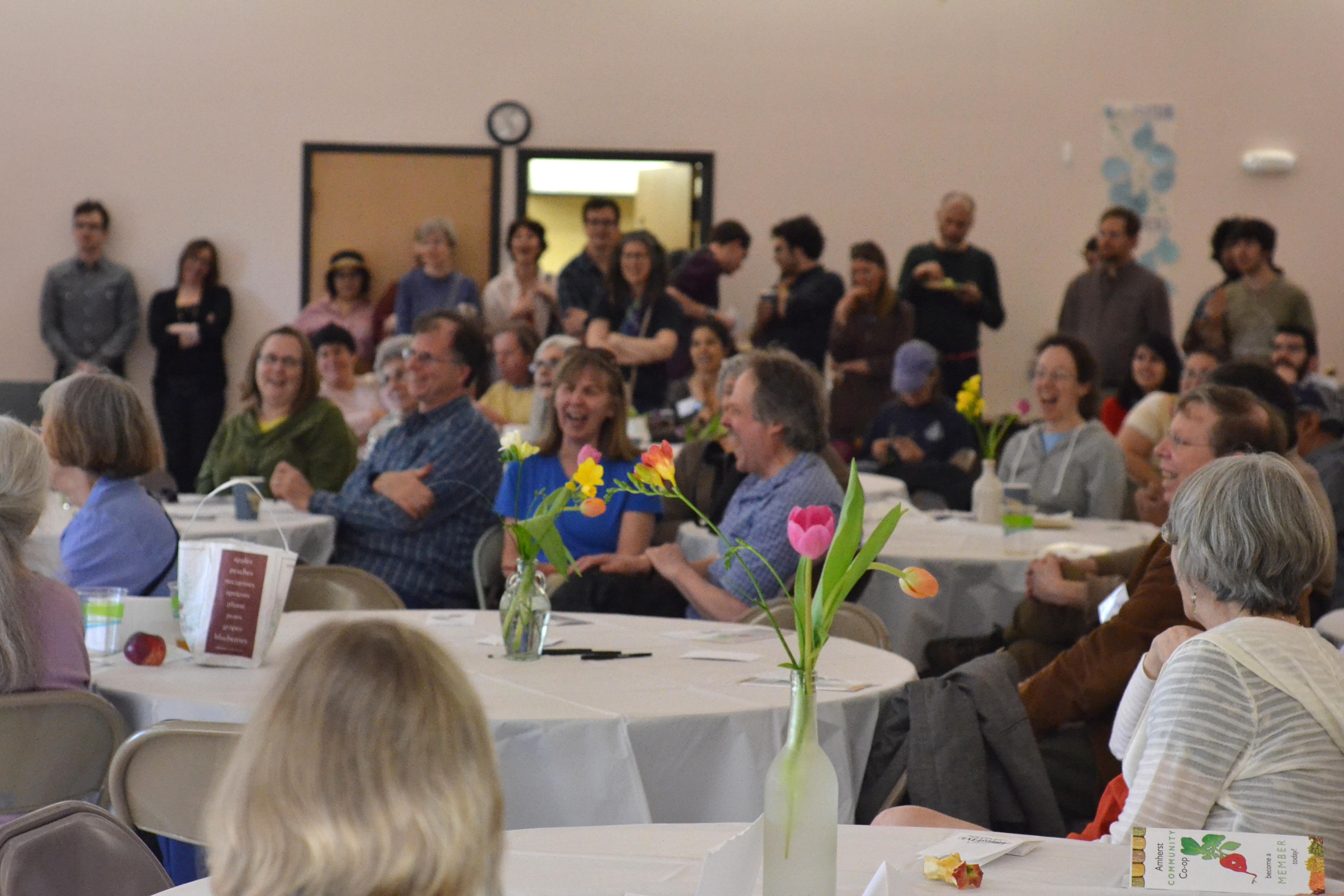 The crowd. [photo credit: Rebekah Hanlon]