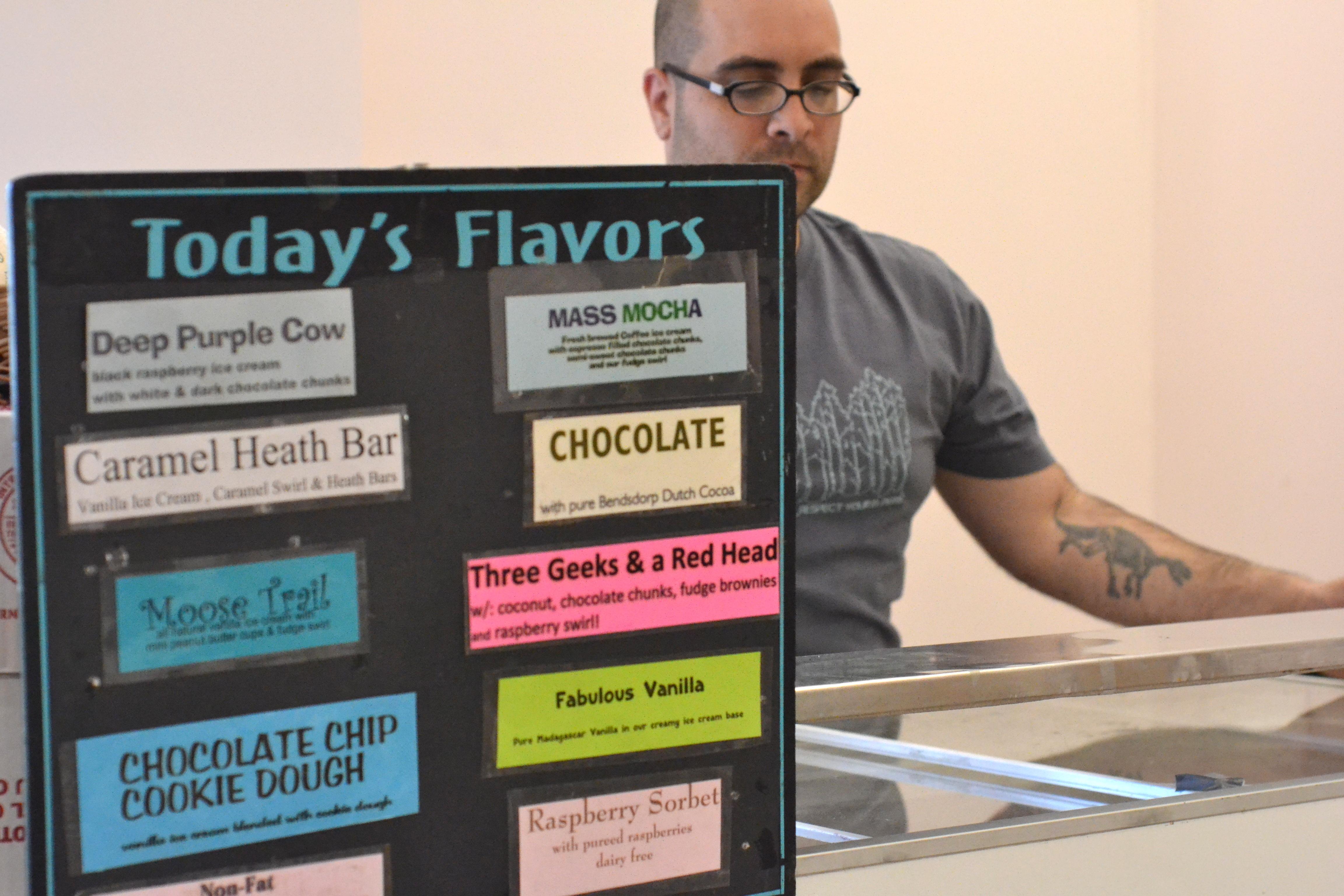 Bart's Ice Cream. [photo credit: Rebekah Hanlon]