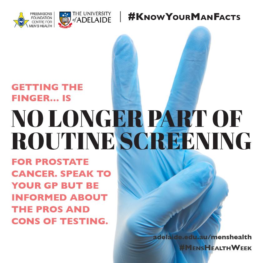 Finger prostata The Male