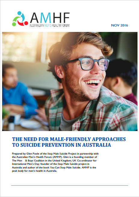Male Suicide Position Paper Cover