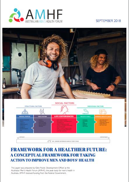 Conceptual Framework For Men's Health Cover