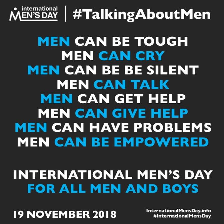 International Men's Day Messages - International Mens Day