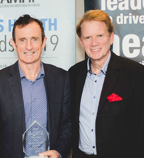 WA Men's Health Award winners from the Fathering Project