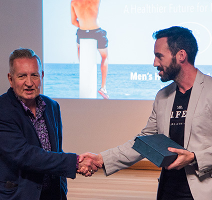 Mr Perfect wins the NSW Men's Health Awards