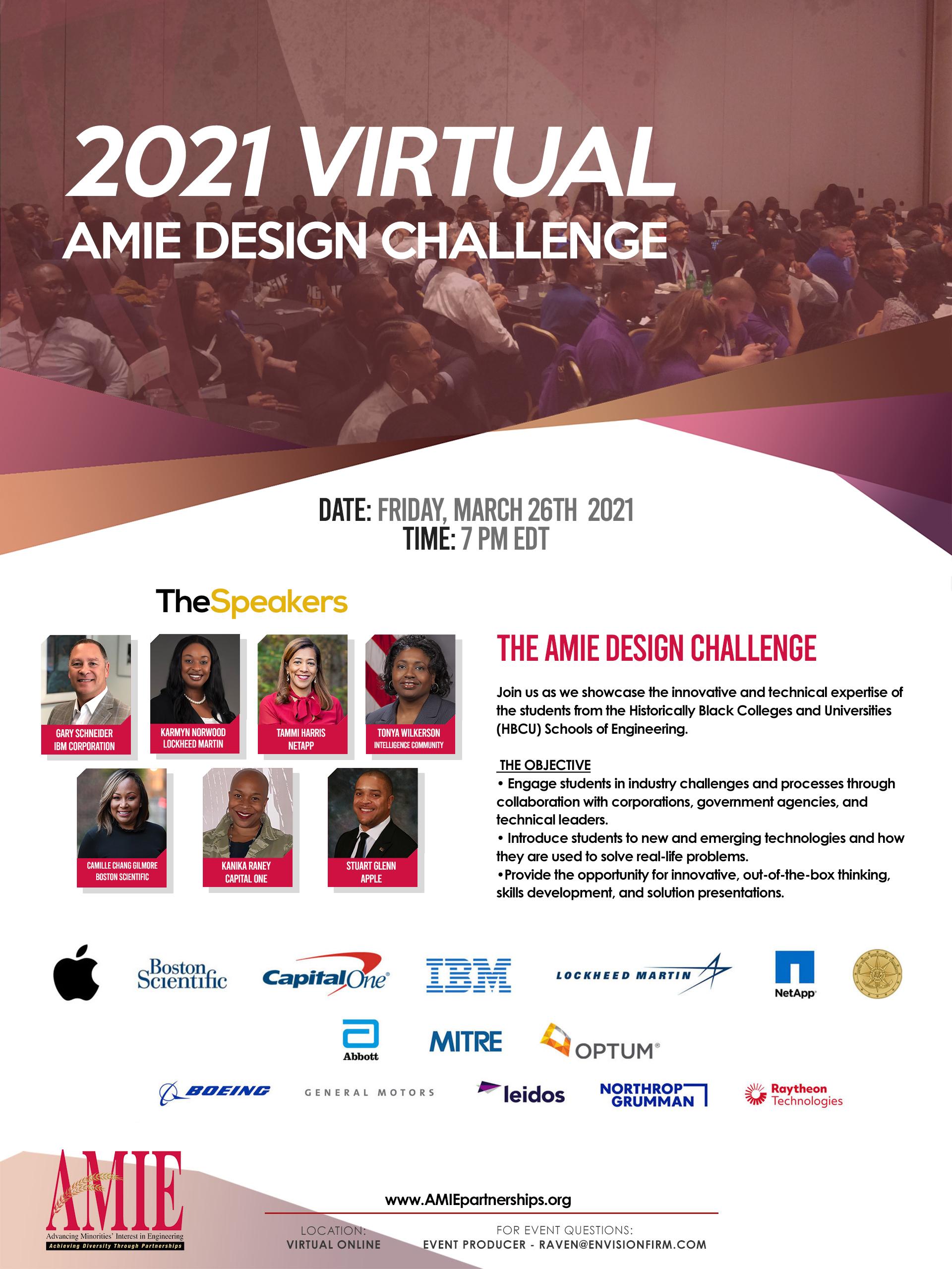 2021 AMIE Design Challenge