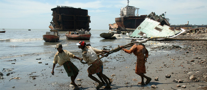 Unions demand action on ship breaking slavery - Australian