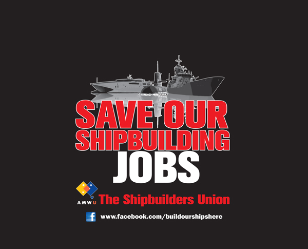 FEDERAL GOVERNMENT SITS ON ITS HANDS AS MORE SHIPBUILDING JOBS LOST AT ASC.