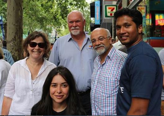 Interns help union speak to all people