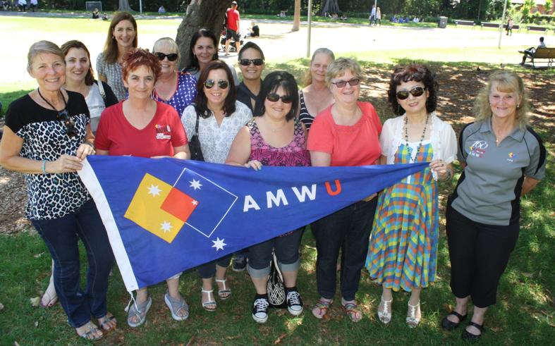 AMWU women meet as gender progress stalls