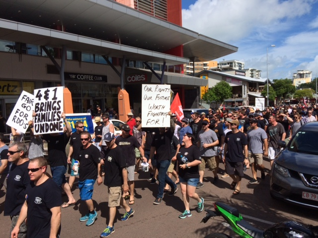 FIFO anger at Ichthys nears boiling point