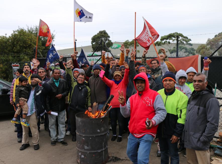 Bitzer bitten as workers win epic strike