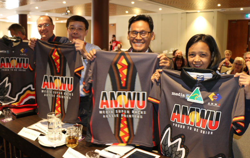 AMWU voice vital for Asia