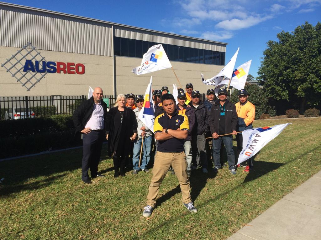 Victorious AusReo Workers Thank Comrades