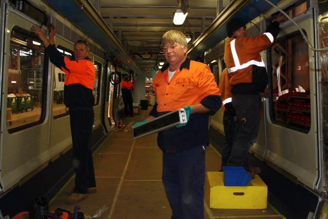 Local Jobs Cut from Train Tender