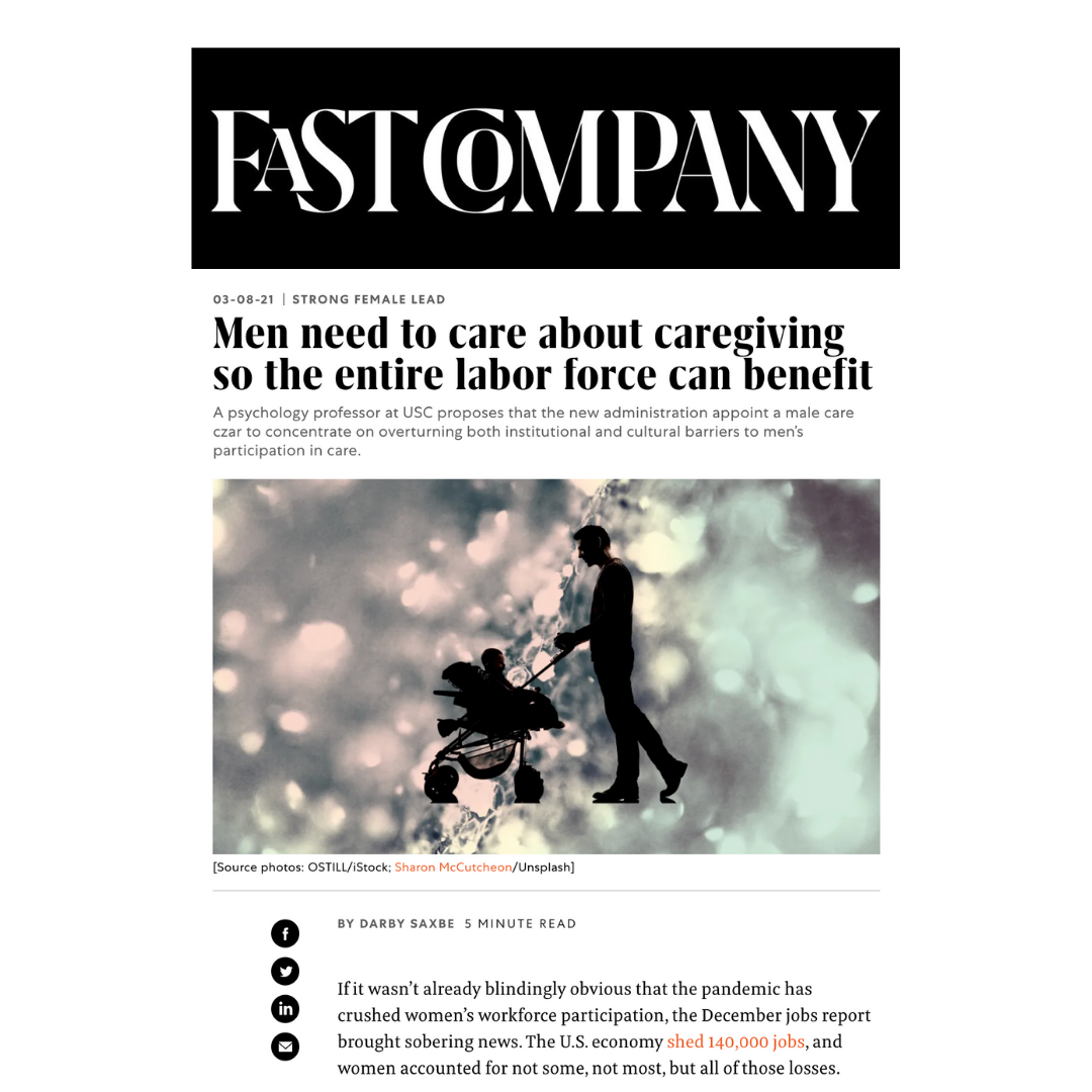 Fast Company Darby Saxbe article