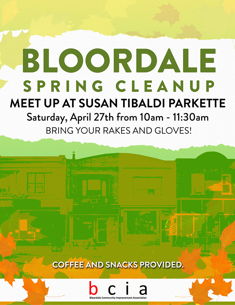 Bloordale Spring Cleanup