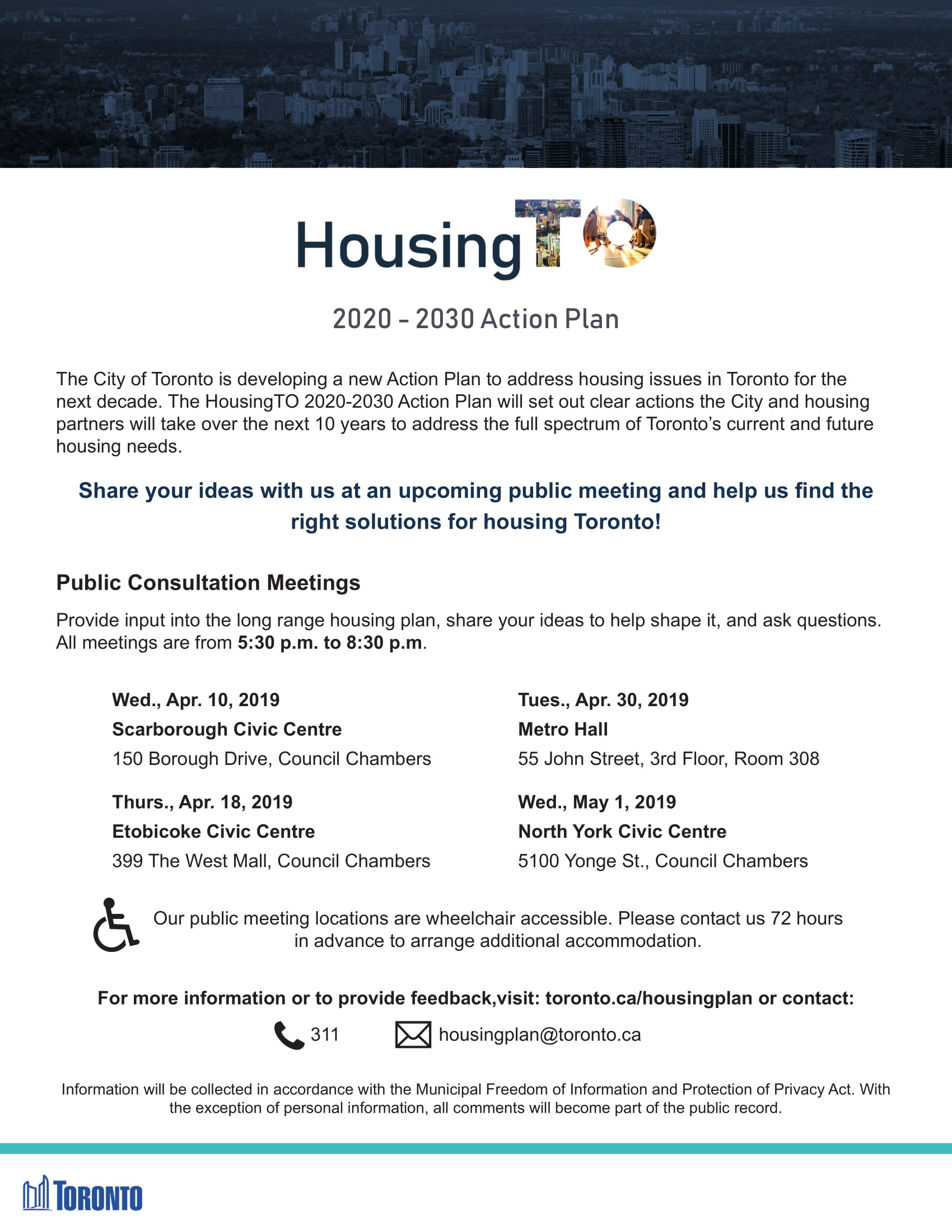 HousingTO Notice