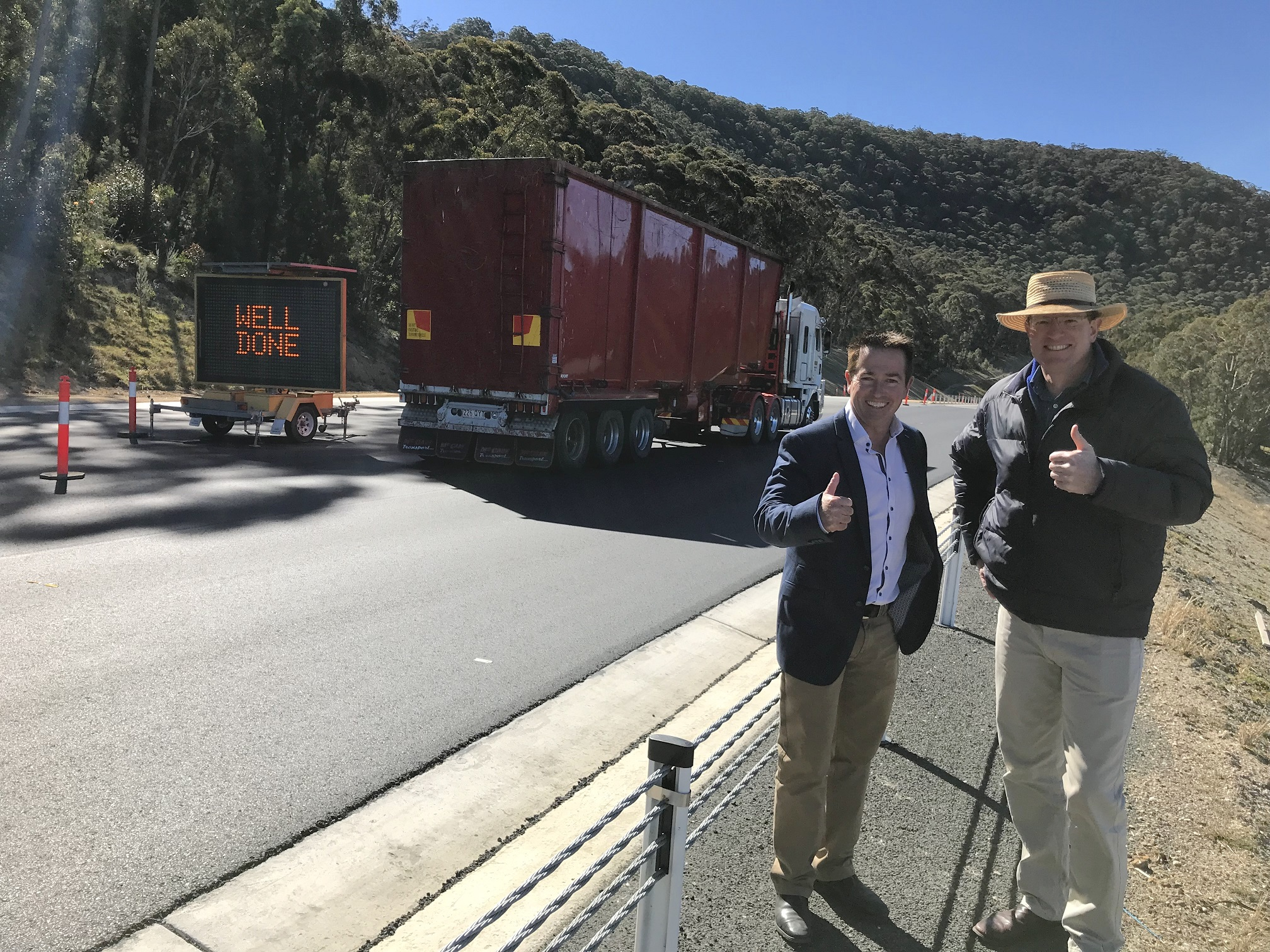 A SAFER GREAT WESTERN HIGHWAY FOLLOWING HARTLEY VALLEY UPGRADE