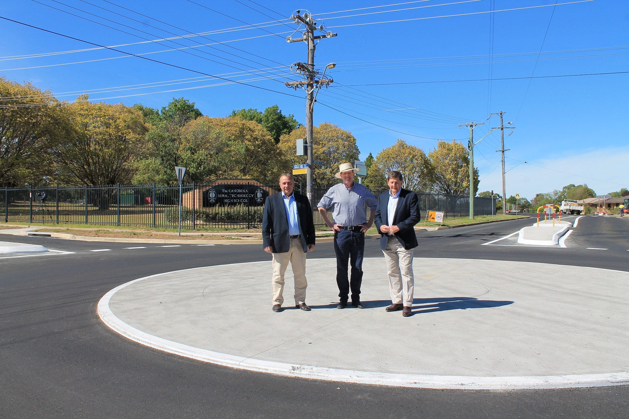 ORANGE'S NEWEST ROUNDABOUT OPENS FOR TRAFFIC