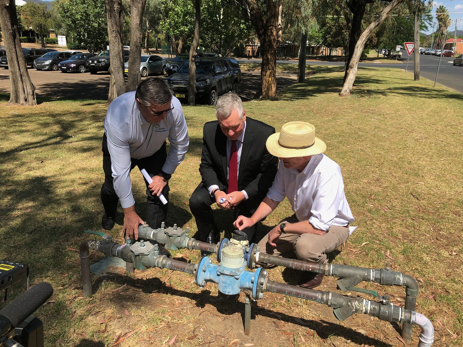 FEDERAL FUNDING FLOWS FOR MID-WESTERN REGIONAL COUNCIL'S SMART WATER METER PROJECT