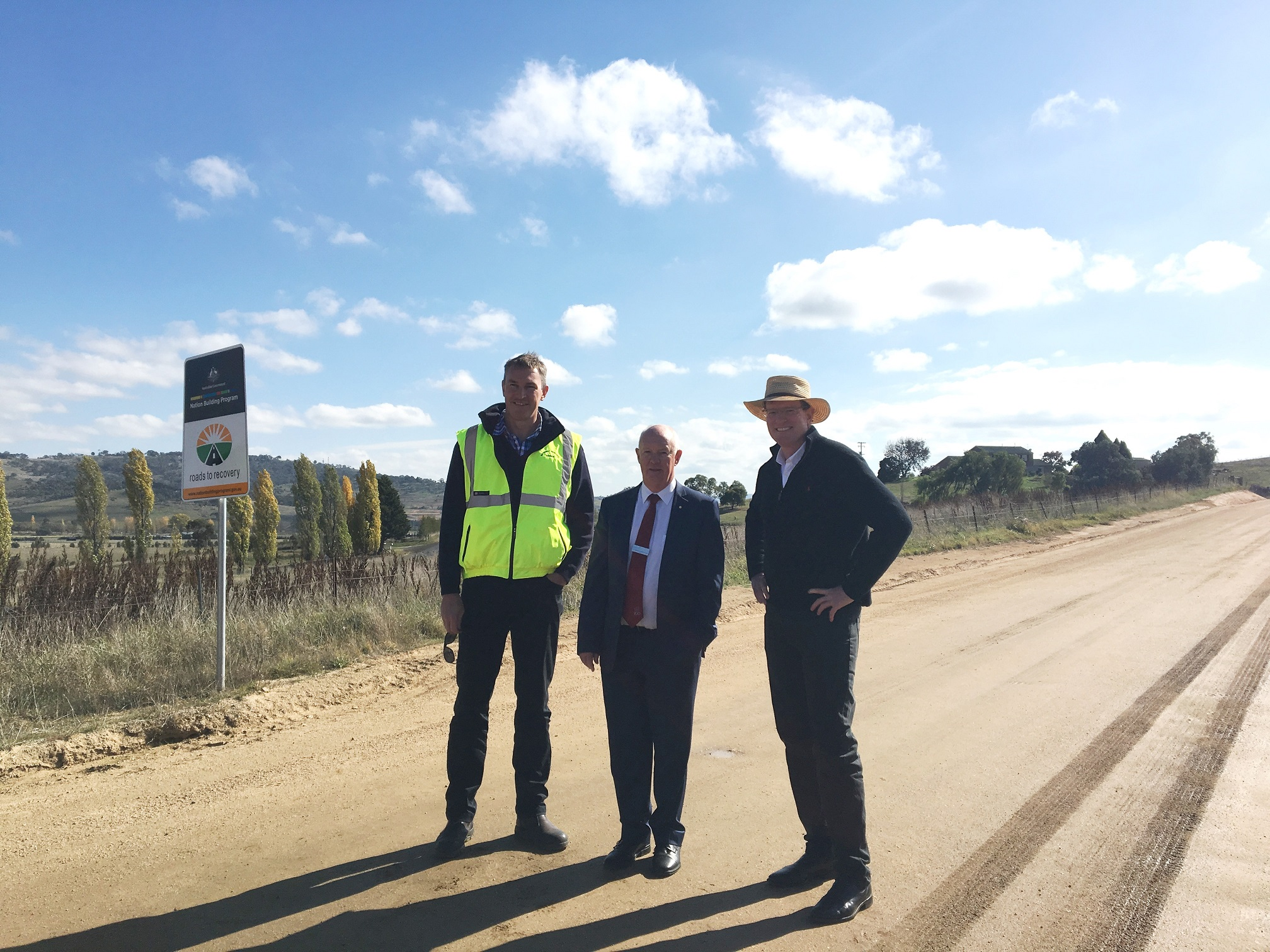 ROADS ON THE MEND IN BATHURST