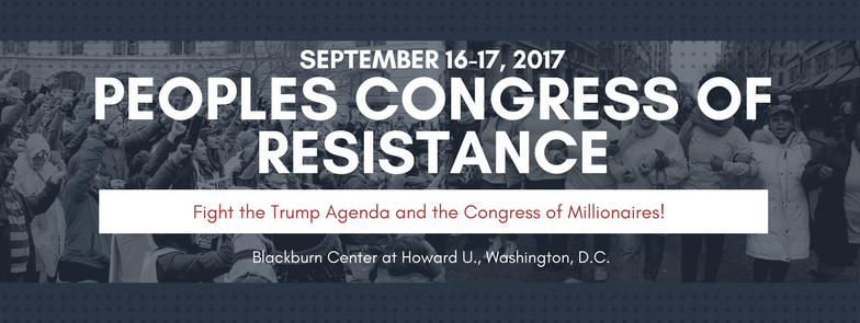 People's Congress of Resistance banner