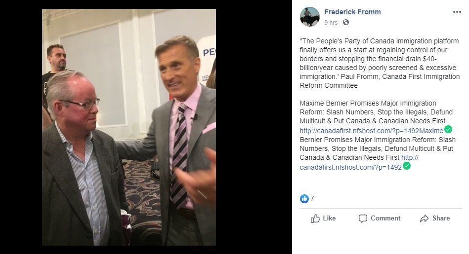 neo-nazi at Canadian Anti-Hate Network