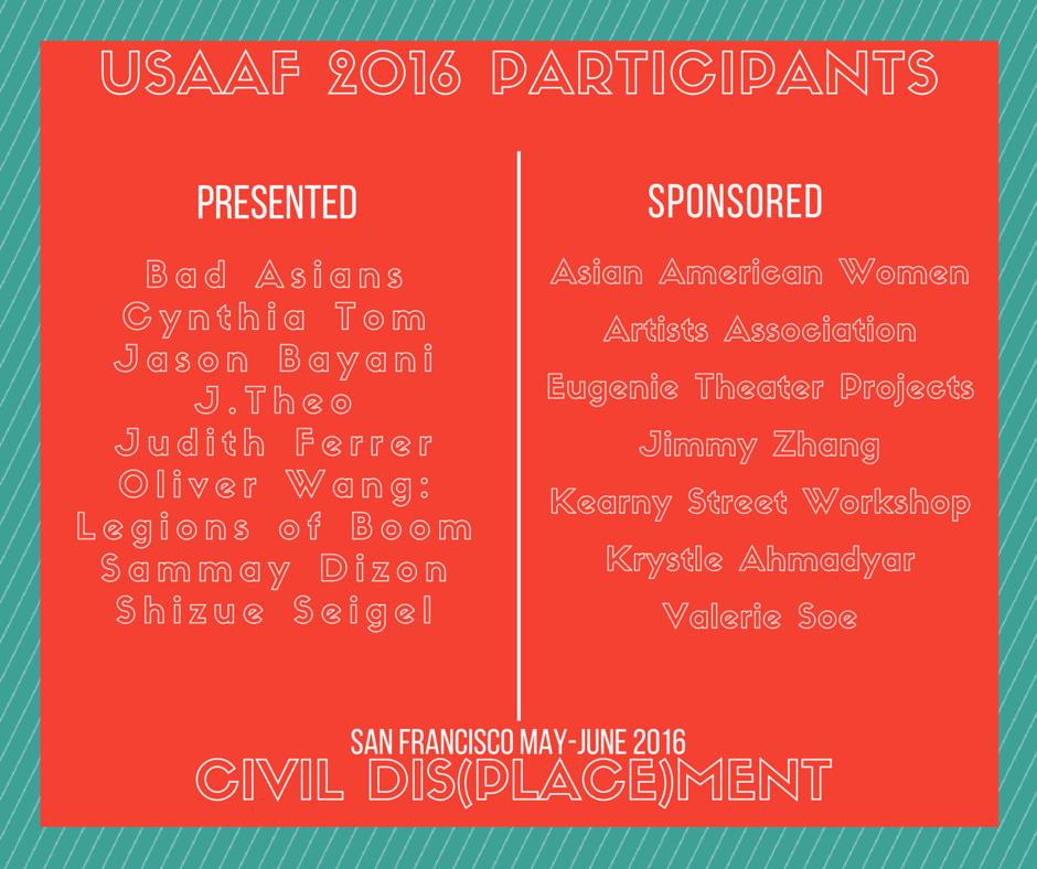 USAAF2016Participants