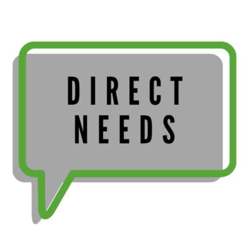 direct needs button