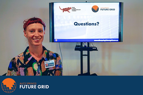Hayley Michener Alice Springs Future Grid
