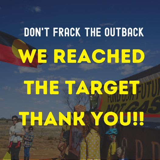 Dont frack the outback