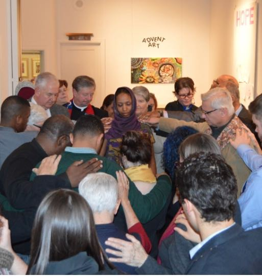 Laying of Hands and prayer