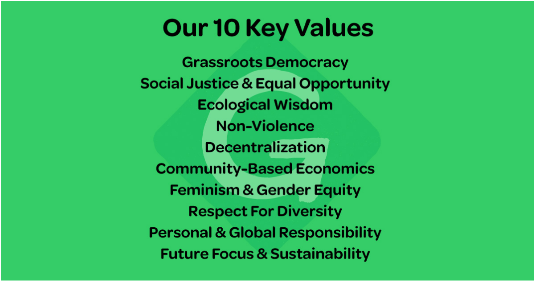 10 key values