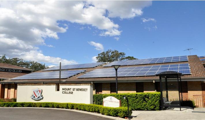 MtStBenedict solar panels
