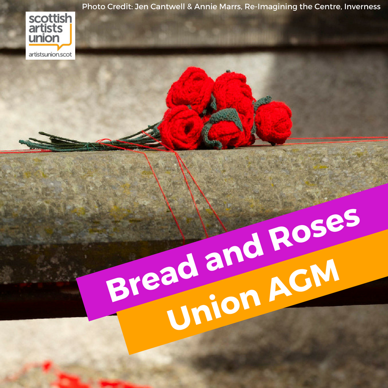 Bread and Roses - Union AGM in Inverness