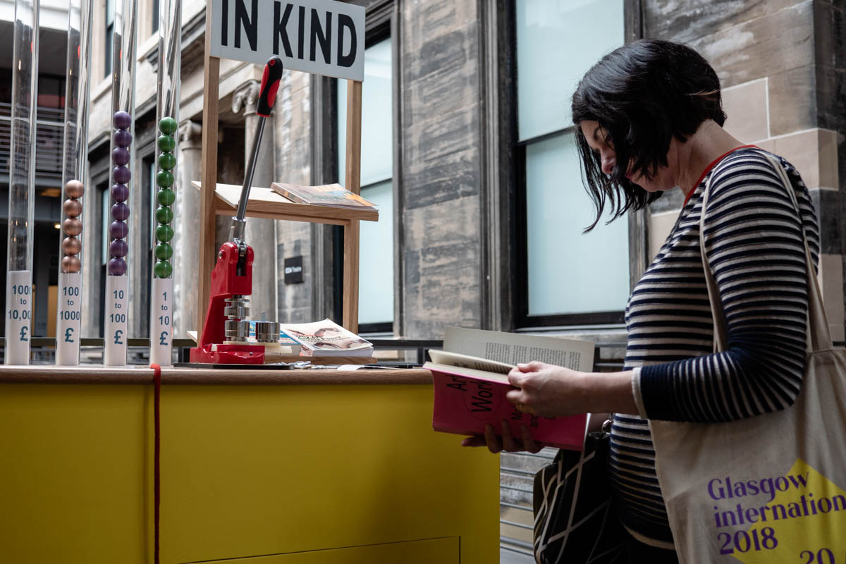 In Kind: The Hidden Economies of Glasgow International Festival of Visual Art