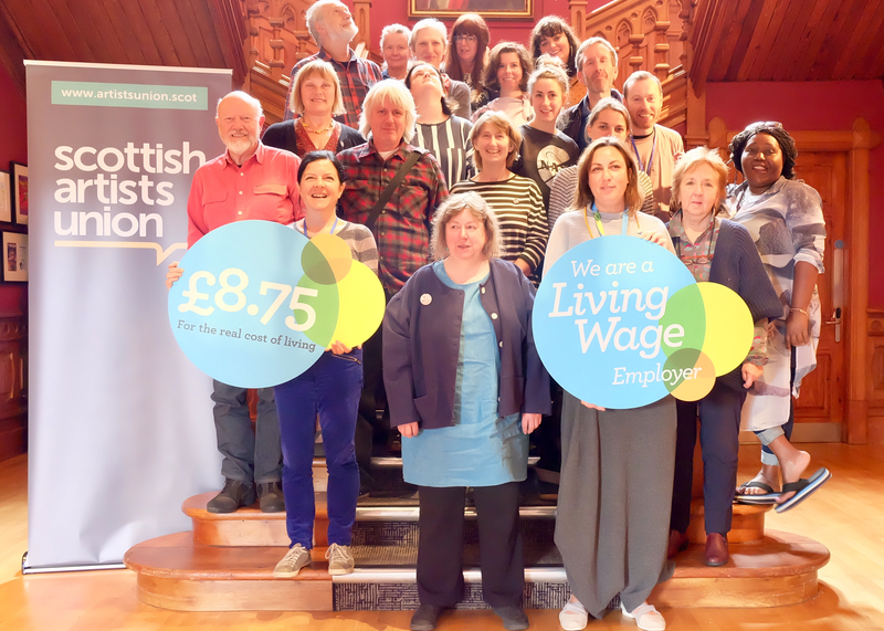 Living Wage Scottish Artists Union AGM