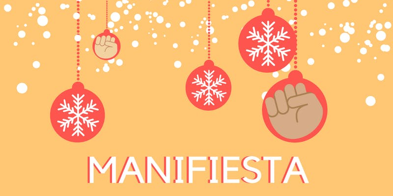 Invite to Manifiesta on 6th Dec 2018