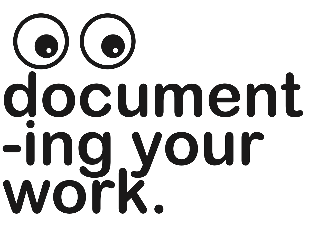 How to Document Your Work