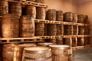 80 barrels of bourbon aged for 5 years.