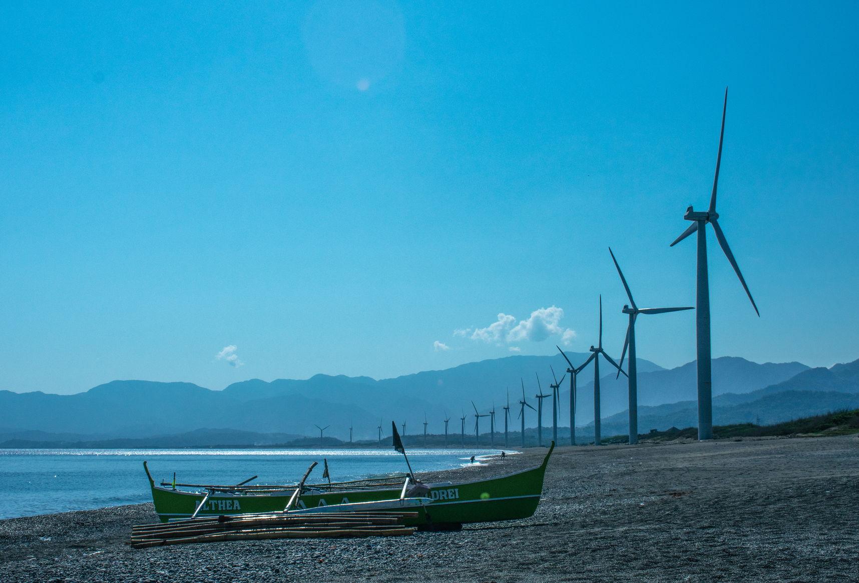 Bangui Bay Wind Farm - First in Southeast Asia