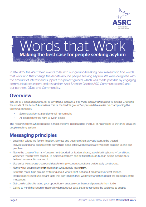 Thumbnail image of Words that Work report