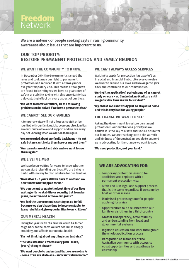 Thumbnail of Permanent Protection Fact Sheet