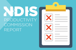 Productivity Commission Report is bad news