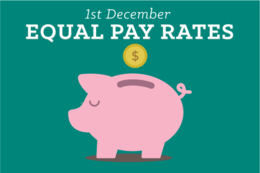Your New Equal Pay Rates!
